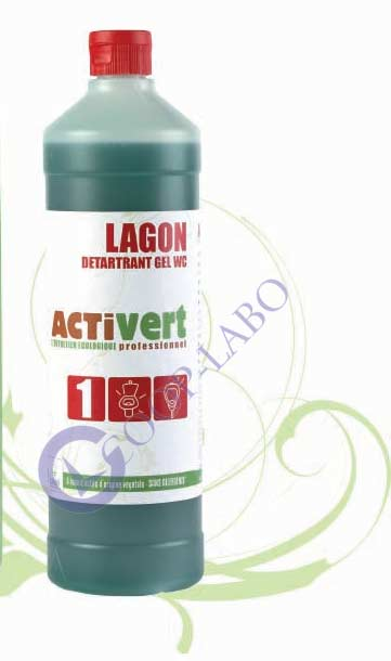 ACTIVERT détartrant gel WC 1L