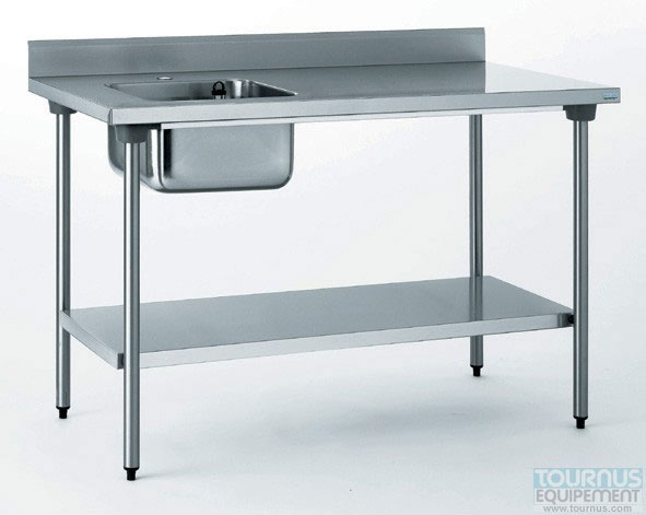 Tables inox du chef